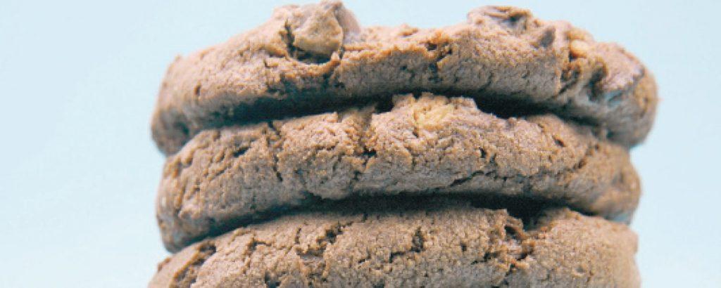 Μπισκότα με διπλή σοκολάτα