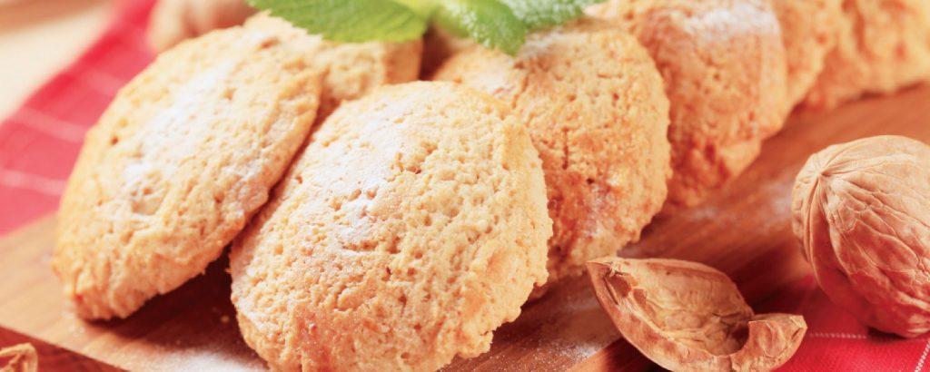Μπισκότα με καρυδόψιχα
