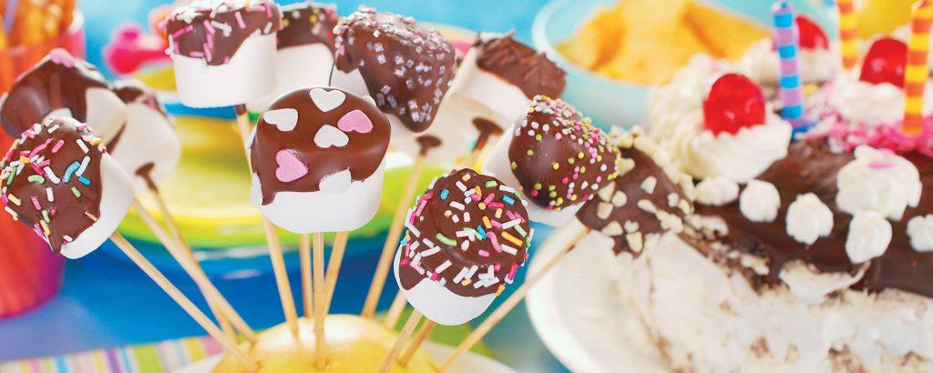 Μαρσμάλοου με σοκολάτα