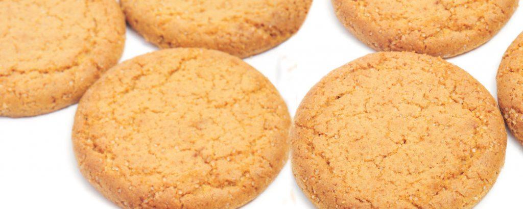 Εγγλέζικα μπισκότα με τζίντζερ