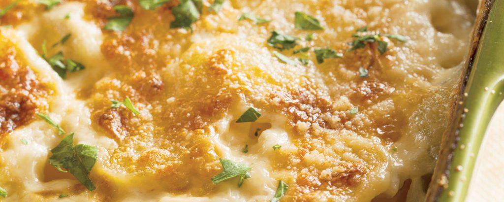 Πατάτες ογκρατέν με μάραθο