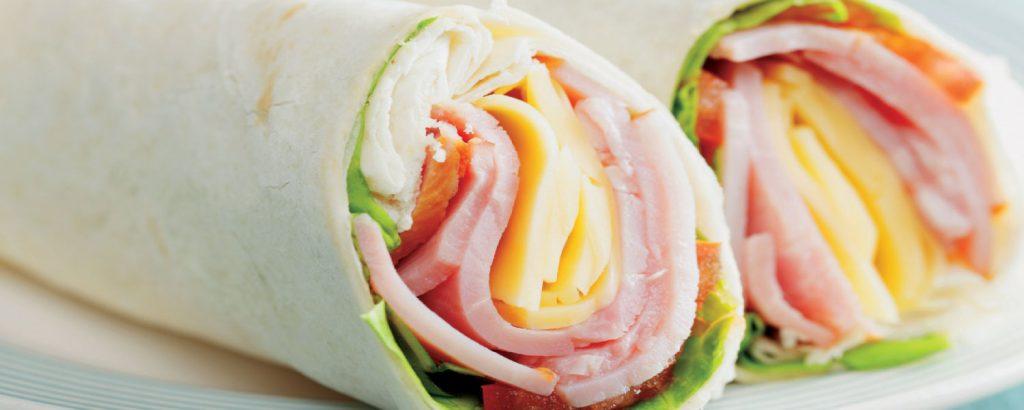 Ρολά-σάντουιτς με τορτίγια