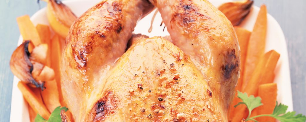 Κοτόπουλο στο φούρνο
