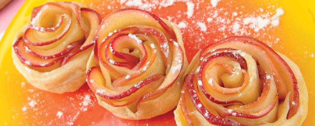 «Τριαντάφυλλα» με μήλο