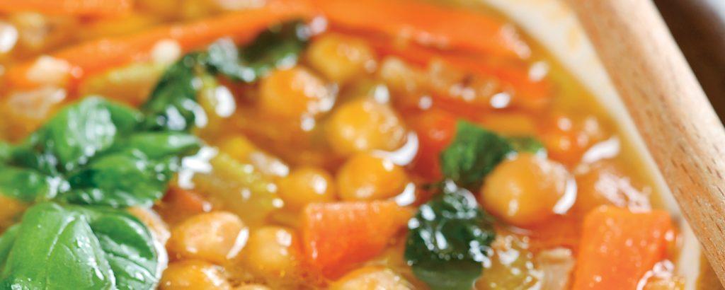 Σούπα με ρεβίθια