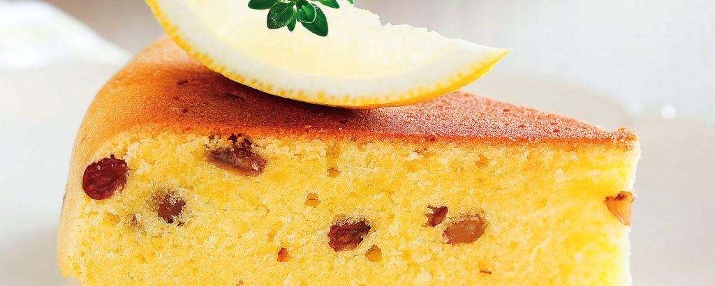Κέικ αναρής με λεμόνι