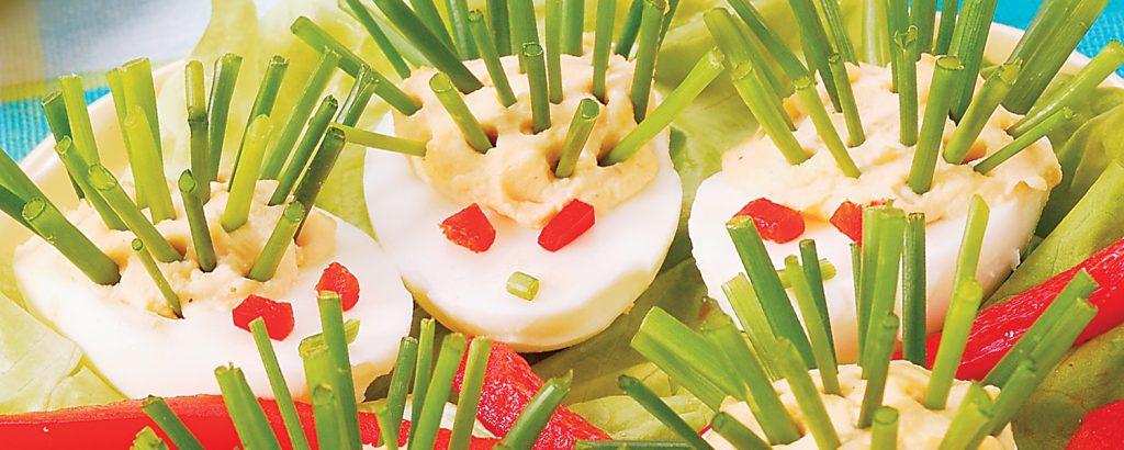 Aβγά σκαντζοχοιράκια