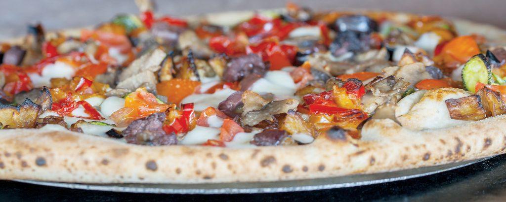 Pizza Crudo e rucola