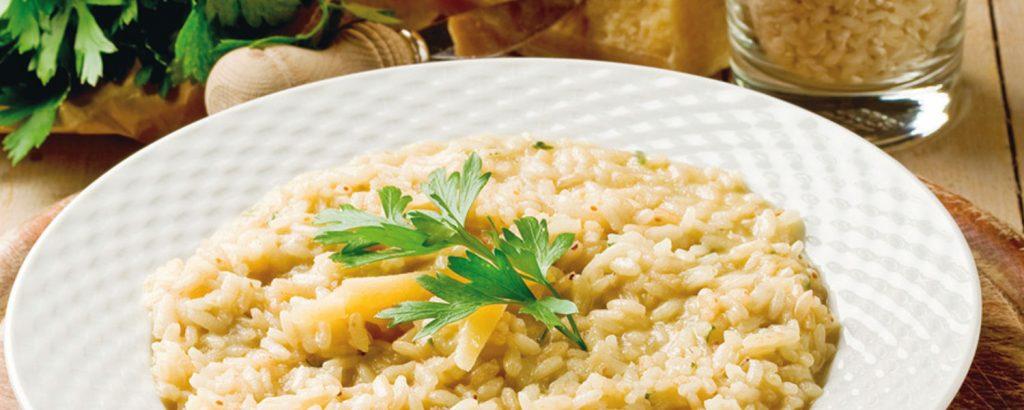 Ριζότο Allά parmigiana (αλά παρμιγκιάνα)