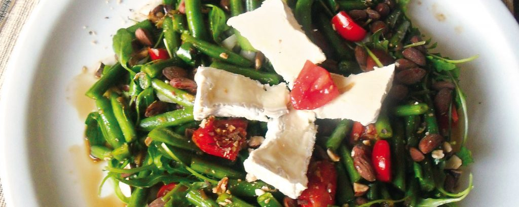 Σαλάτα με σπανάκι