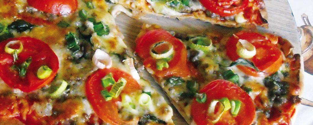 Σπιτική πίτσα με κιμά