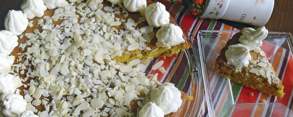 Βιολογικό κέικ με μανταρίνια και αβοκάντο