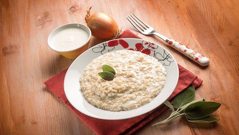 Αυθεντικό ριζότο με κρέμα γάλακτος