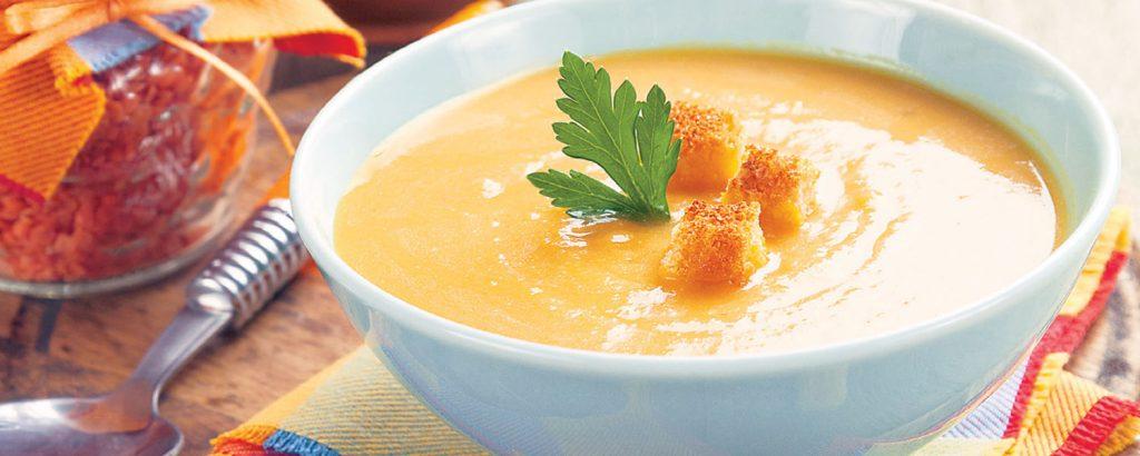 Αιγυπτιακή σούπα με κόκκινες φακές