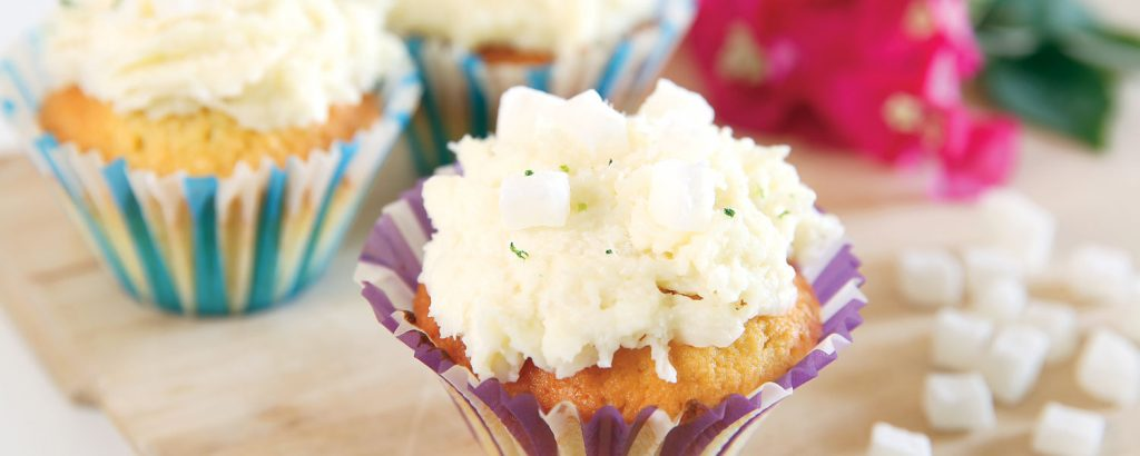 Κρεµώδη cupcakes µε ινδοκάρυδο