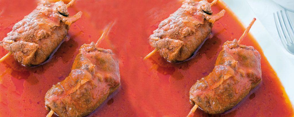Βοδινά ρολά Μπρατσιόλε