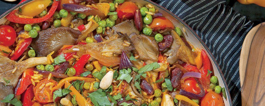 Παέγια με λαχανικά