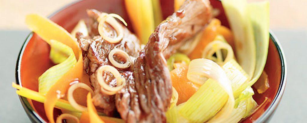 Βοδινό στιρ-φράι με λαχανικά