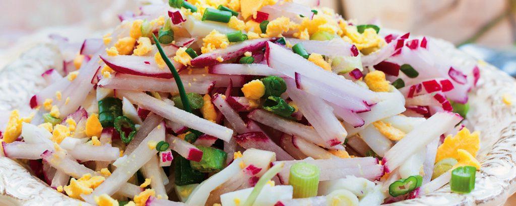 Σαλάτα με ραπανάκια