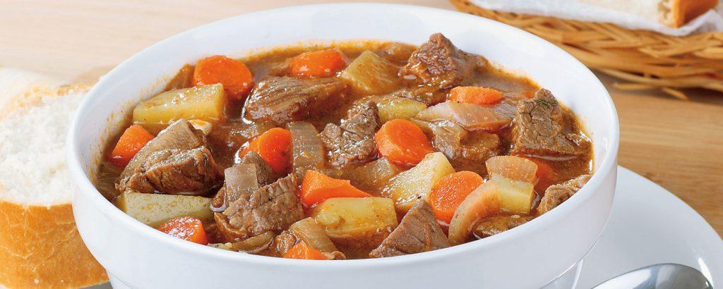 Σούπα με βοδινό και λαχανικά