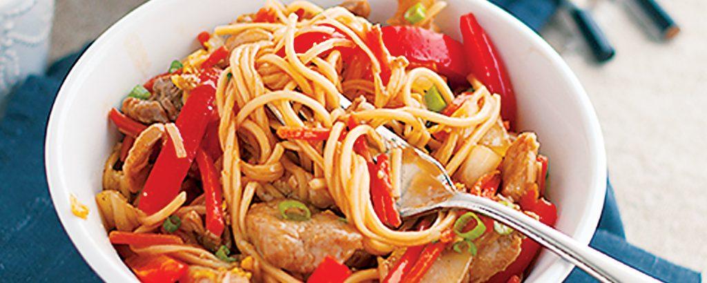 Χοιρινό τσόου-μέιν (Chow Mein)