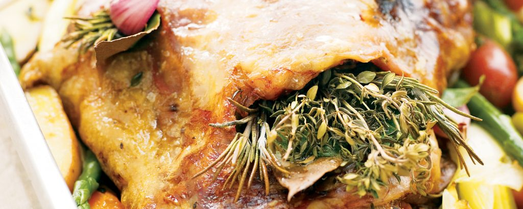 Αρνάκι σιγοψημένο με λαχανικά