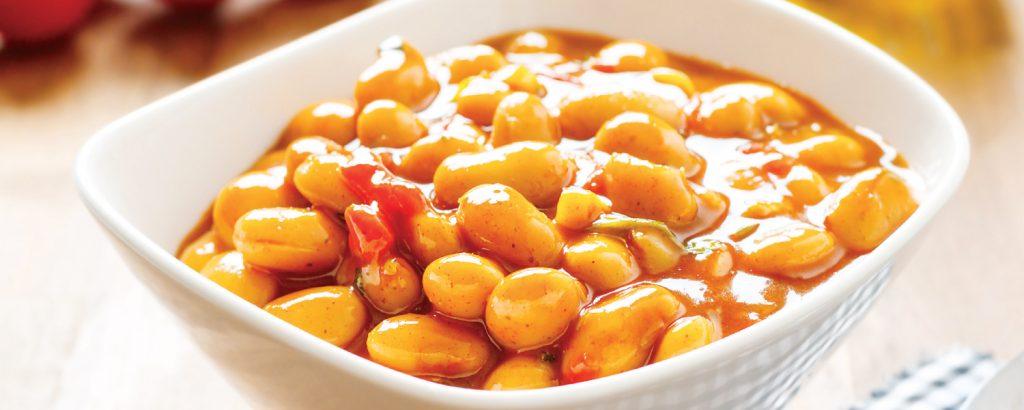 Φασόλια με πιπεριές φούρνου