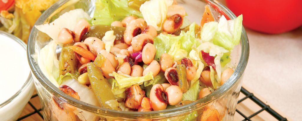 Σαλάτα με λουβιά