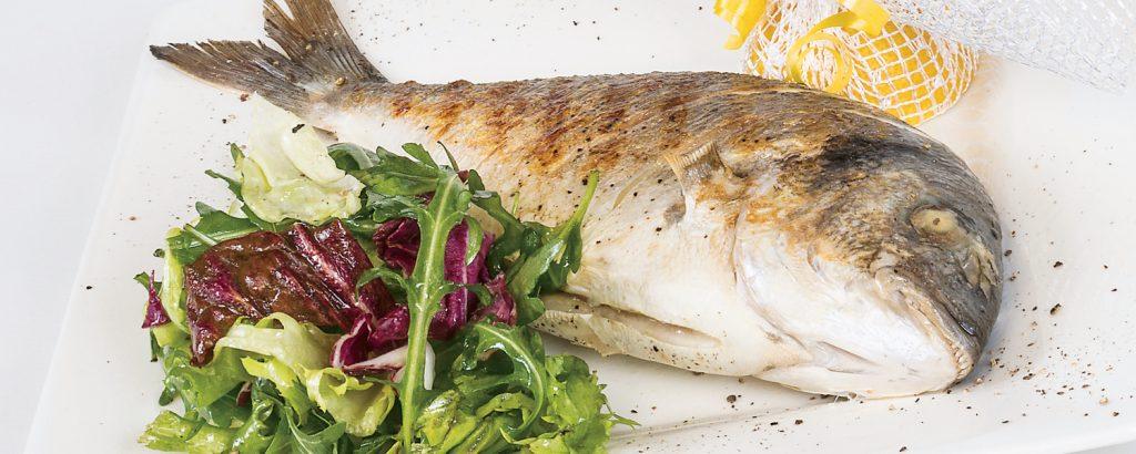 Ψάρι με σπανάκι