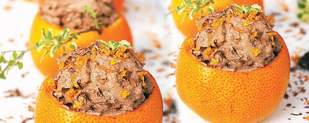 Μους με άρωμα πορτοκάλι