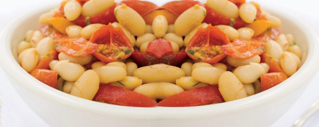 Φασόλια με ντοματίνια