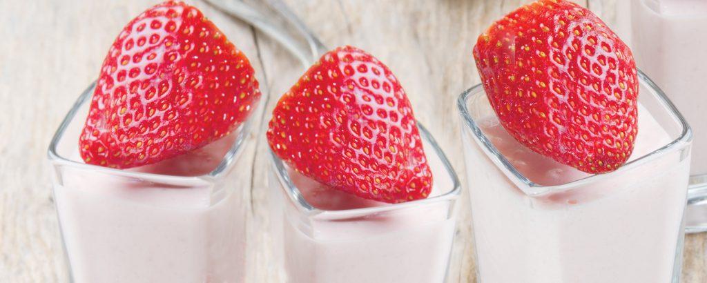 Eύκολη μους φράουλας