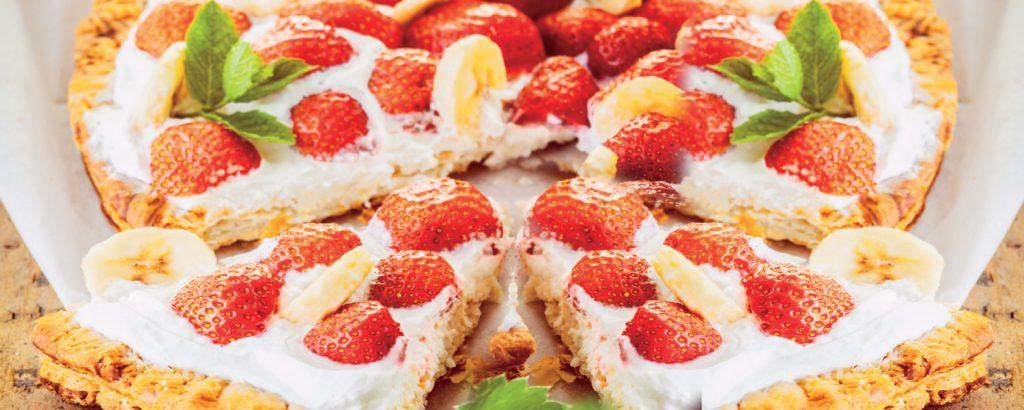 Τάρτα με φράουλες