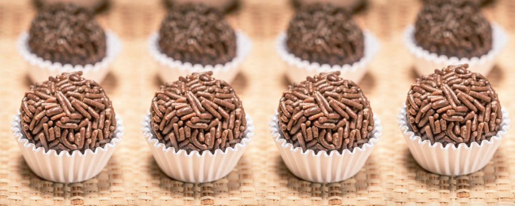 Βραζιλιάνικες τρούφες σοκολάτας