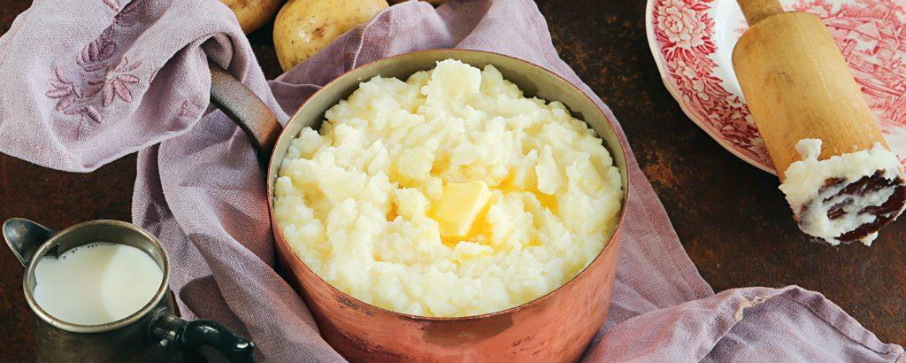 Φρέσκος πουρές πατάτας