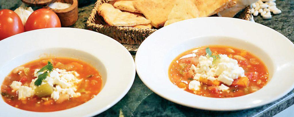 Eλληνική σούπα μινεστρόνε