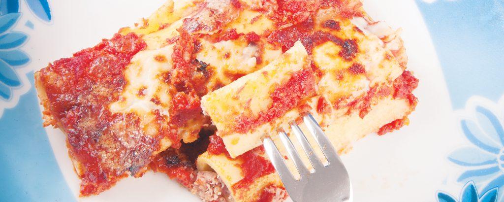Κανελόνια με 3 τυριά
