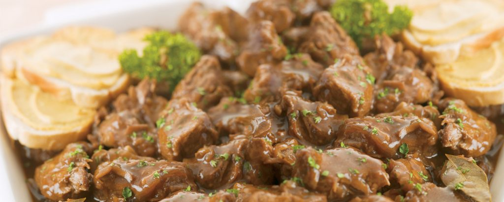 Βοδινό βελγική «καρμπονάτ»