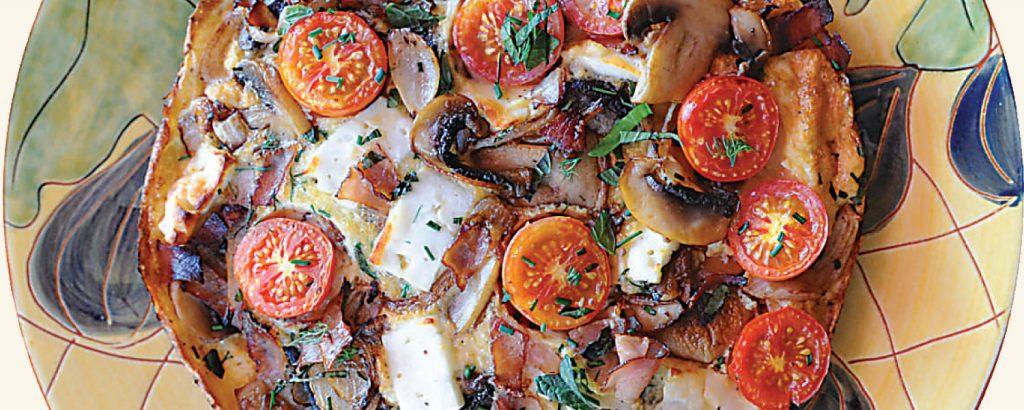 Κυπριακό σουφλέ ομελέτας