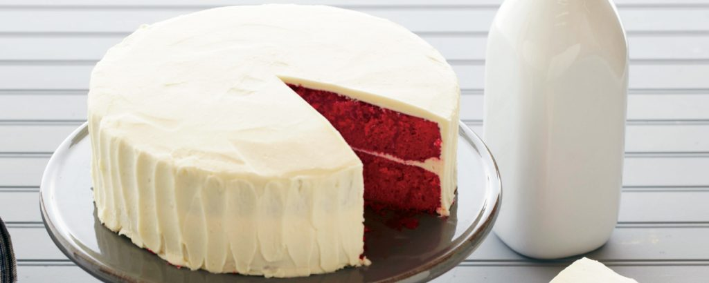 Red Velvet με άσπρης σοκολάτας