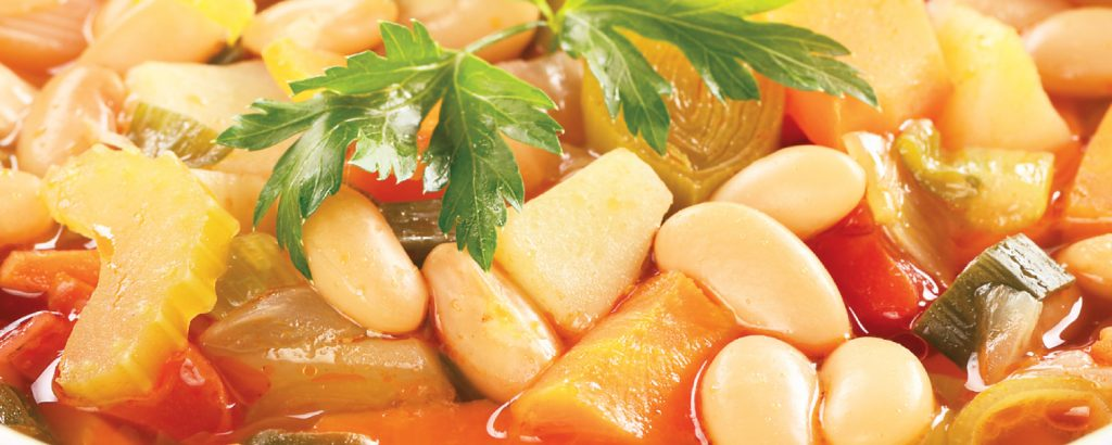 Φασόλια με λαχανικά