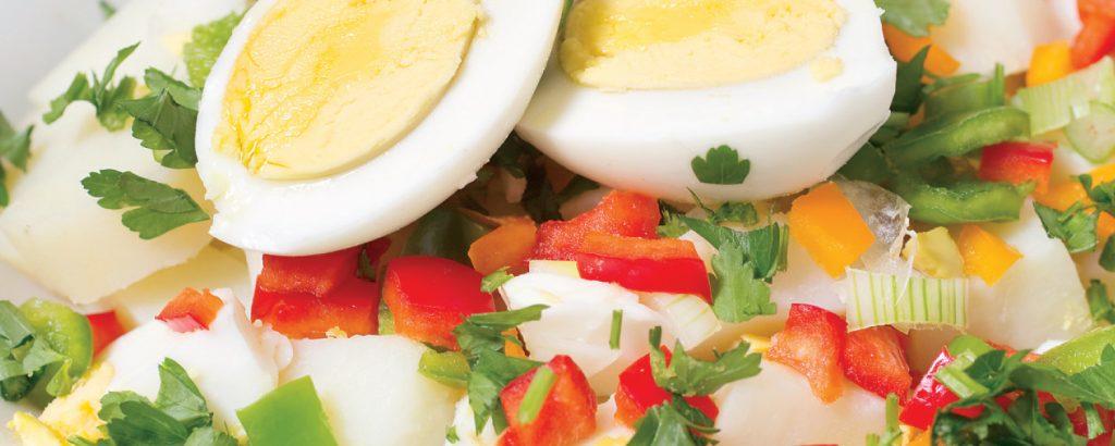 Πατατοσαλάτα με αυγά