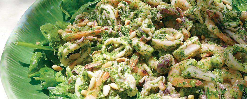 Σαλάτα με καλαμάρια