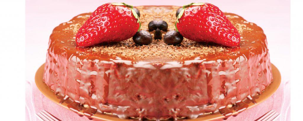 Κέικ σοκολάτας χαμηλών λιπαρών