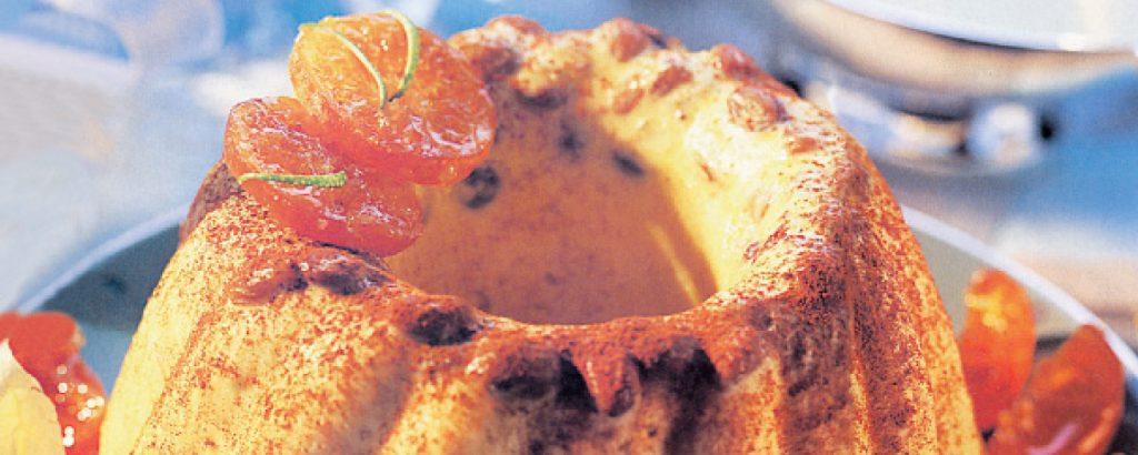Κουγκλόφ με λικέρ πορτοκάλι