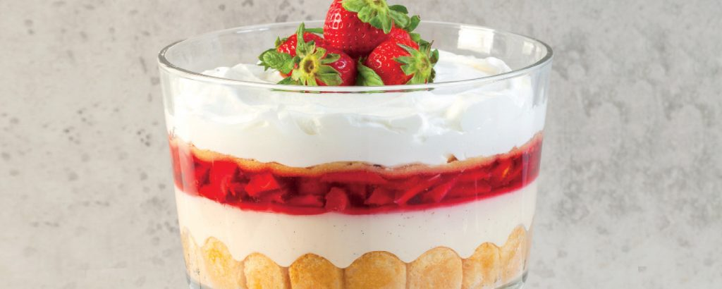 Τράιφολ με φράουλες