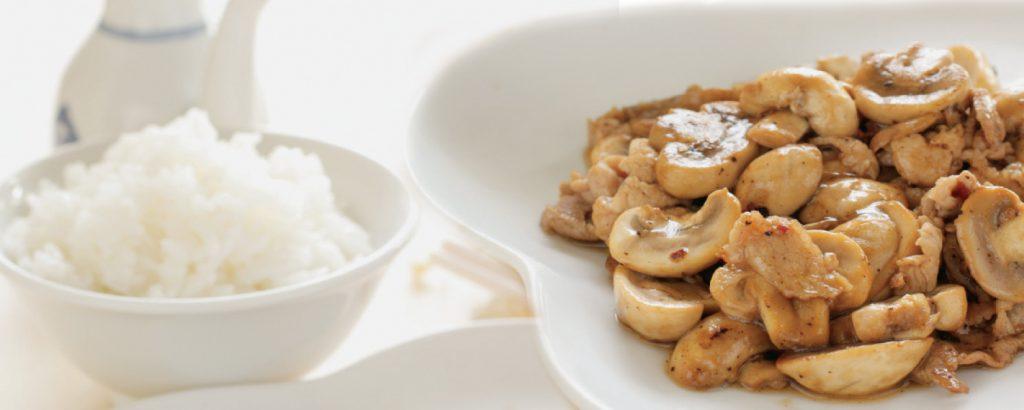 Κινέζικο κοτόπουλο με μανιτάρια