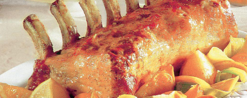 Kαρέ χοιρινό με εσπεριδοειδή