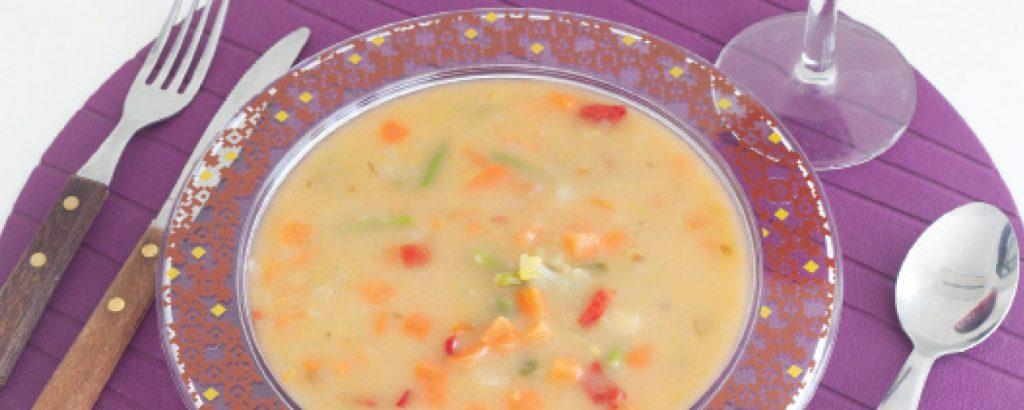Χορτόσουπα με πράσο