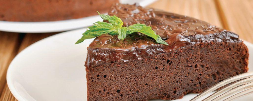 Τόρτε-μους σοκολάτας (Χωρίς αλεύρι)